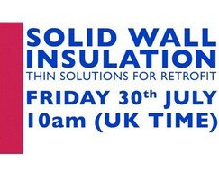 A Proctor Group: Solid Wall Insulation: Thin Solutions for Retrofit