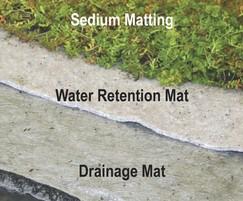 Enviromat sedum matting