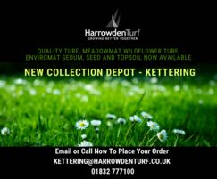 Harrowden Turf: Harrowden Turf opens new Collection Depot near Kettering