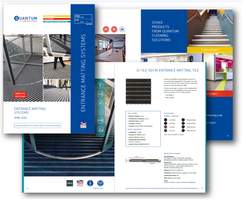 Quantum Flooring Solutions: Quantum's new entrance matting guide now available