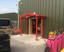 The New Canopy at Huws Gray Winsford.