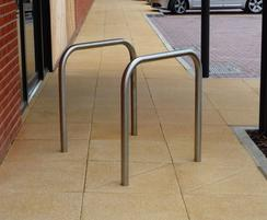 Sheffield stainless steel cycle stand