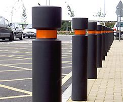 EB100 steel core bollards