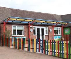 Little Ripley Day Nursery - Bespoke waiting canopy