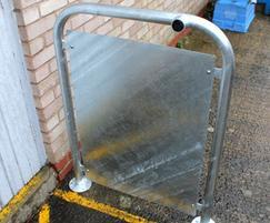 Type 1 Door Stop with solid steel ifill