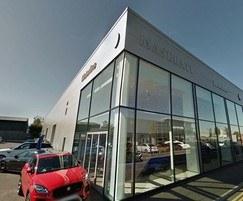 Maserati car showroom