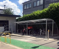 Cycle storage for Travelodge in Acton