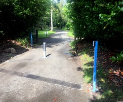Automatic rising bollards from AUTOPA