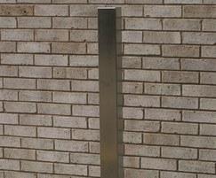 100x100mm plain square bollard