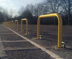 perimeter barrier yellow