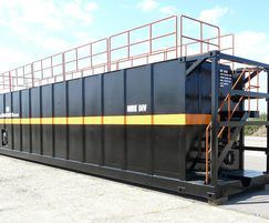 European specification steel hire tank