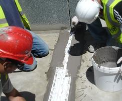 Cementjoint, used over construction & expansion joints