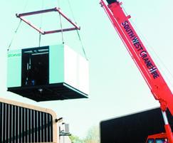 Heatpak packaged boiler house