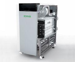 R600 EVOLUTION boiler with side panel removed