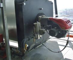 Economatic REX F steel shell boiler