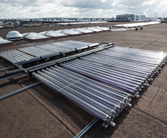 Ecotube evacuated tube solar thermal collectors