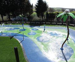 Drusilas Park Splash Pad Surfacing
