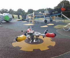 Surfacing for Mayfield Park, Southampton