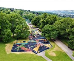 Wet Pour Installed At Lister Park, Bradford By RTC