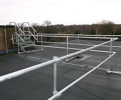 Kee Klamp® roof guardrail
