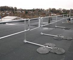 KeeGuard® rooftop guardrail