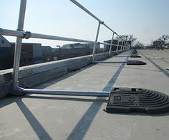 Rooftop guardrails for Virgin Atlantic, Crawley