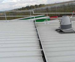 Safesite KeeGuard® roof edge protection