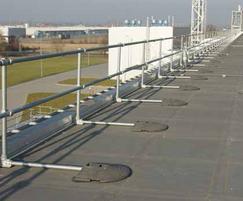 KeeGuard® protective roof edge rail