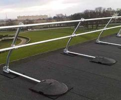 Roof edge protection from Safesite