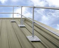 Safesite KeeGuard Topfix® roof edge protection