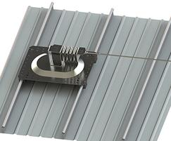Life Line post - standing seam roofs