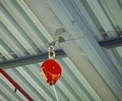 Keeline® overhead fall protection