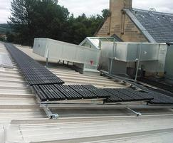 Modular walkway system for roofs