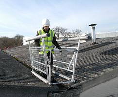 Mobile roof safety system