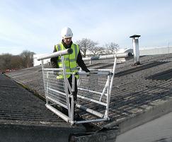 Mobile Valley Frame For Fragile Roof Access Safesite