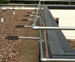 Rooftop guardrails for Warwick Business School