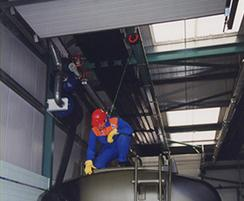 Fall protection for vehicle maintenance