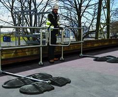 Safe access onto roofs with KeeGuard Ladder Kit