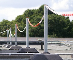 Demarcation system for roofs