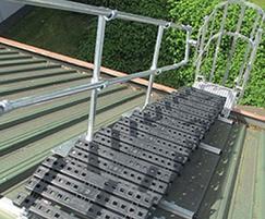 Kee Walk® rooftop safety ladder