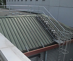 Roof safety at roehampton leisure centre