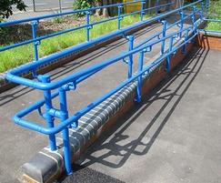 Kee Access DDA-compliant handrailing