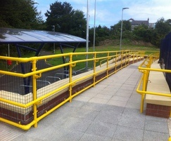 Kee Access handrailing at Hayle Railway station