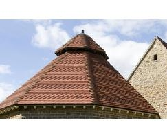 Heritage roof tiles children s hospice bristol for Product design consultancy bristol