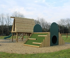 Jungle play den and play mound