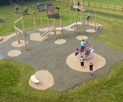 Playground designed and installed by Schoolscapes