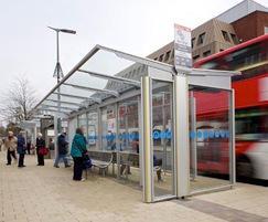 Bus shelters for Midlands transport hubs