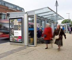 Bus shelters for Midlands cities