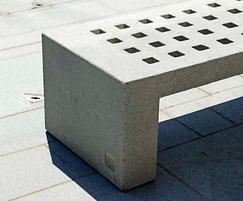 Escofet Mayo cast stone bench