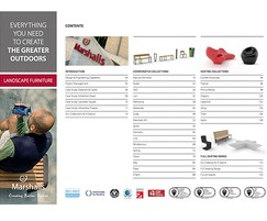 Marshalls - street furniture: Download Marshalls' new Landscape Furniture brochure